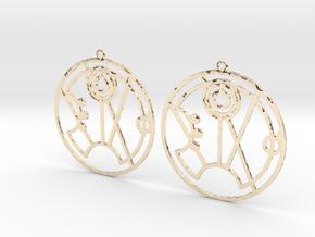 Summer - Earrings - Series 1 in 14K Yellow Gold