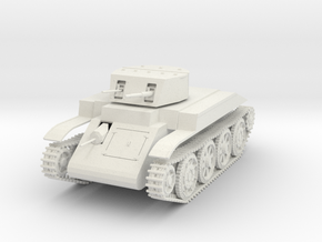 "US T4E1 ""Combat car"" 1:48th WIP in White Strong & Flexible"