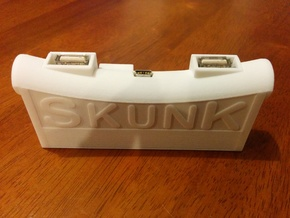 SkunkBox for Skunkboard Rev 1 - JTAG in White Natural Versatile Plastic