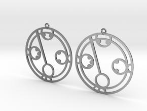 Makayla - Earrings - Series 1 in Premium Silver