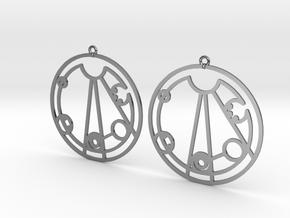 Lindsey - Earrings - Series 1 in Premium Silver