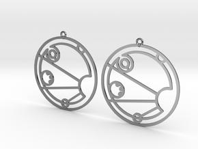 Isabel - Earrings - Series 1 in Premium Silver