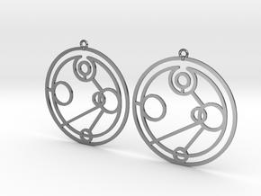 Imogen - Earrings - Series 1 in Premium Silver