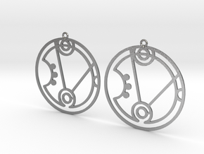 Heather - Earrings - Series 1 in Natural Silver