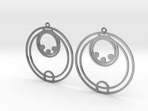 Ella - Earrings - Series 1 in Premium Silver