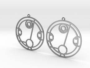 Hayley - Earrings - Series 1 in Premium Silver