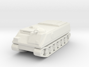 Armored Carrier in White Natural Versatile Plastic