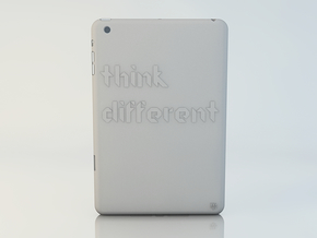 iPad mini Think Case in White Natural Versatile Plastic