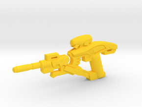 Fusion Sniper Rifle in Yellow Processed Versatile Plastic