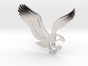 Eagle without hole in Platinum