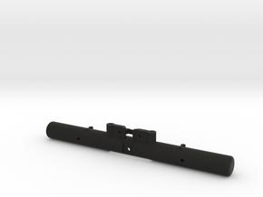 397006-01 Hilux High Lift Rear Bumper in Black Strong & Flexible