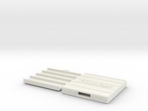 Alto sax reed box in White Natural Versatile Plastic
