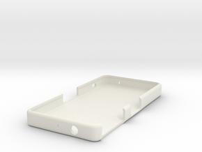 Z3 Compact Case (Plain) in White Natural Versatile Plastic