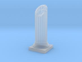 Pillar Broken Bottom Original Lrg in Smooth Fine Detail Plastic