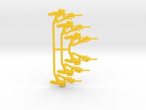 Fusion Rifle Pack in Yellow Strong & Flexible Polished