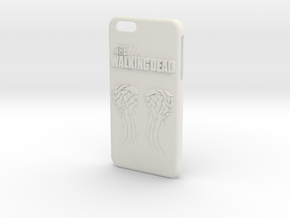 Walking Dead Iphone 6 Plus Case in White Strong & Flexible