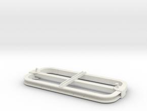 TGL Lorenrahmen, 1:13,3, geschweißte Ausführung in White Natural Versatile Plastic