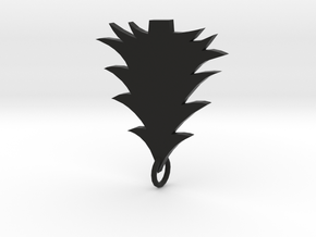 Xmas tree in Black Natural Versatile Plastic