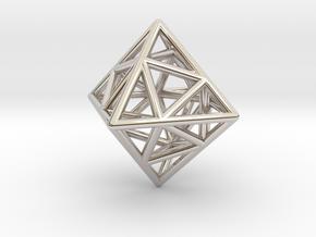 Icosa-Octahedron in Platinum