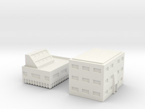 "Penthouse ""B""  Modular Series 1 in White Natural Versatile Plastic"