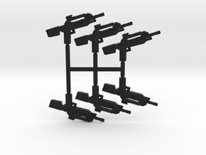 Burst Rifle Pack in Black Natural Versatile Plastic
