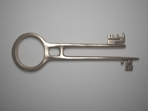 Davy Jones's Key in Stainless Steel