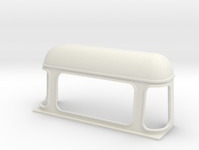 D110 Double Cabin Rear Cab in White Natural Versatile Plastic