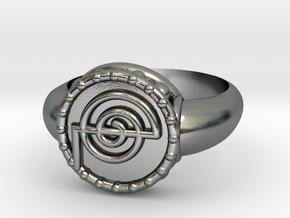 Reki Ring in Polished Silver
