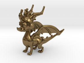 Spyro the Dragon in Natural Bronze
