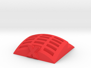 Template Holder for X-Wing Maneuver Templates in Red Processed Versatile Plastic