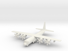 1/285 KC-130J Harvest Hawk in White Natural Versatile Plastic