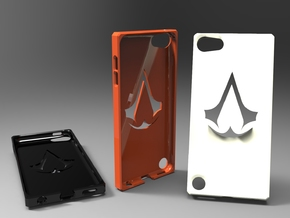Ipod 5th generation assassins creed case in White Natural Versatile Plastic