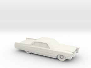 1/87 1967 Cadillac Sedan DeVille in White Natural Versatile Plastic