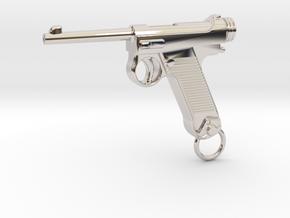 Nambu Gun in Platinum