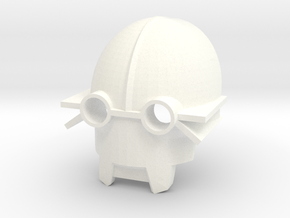 Kanohi Tikanka - Mask of Sensory Aptitude  (Bionic in White Processed Versatile Plastic