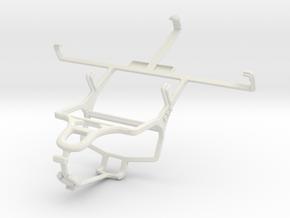 Controller mount for PS4 & ZTE Geek V975 in White Natural Versatile Plastic