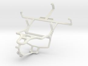 Controller mount for PS4 & ZTE Kis V788 in White Natural Versatile Plastic