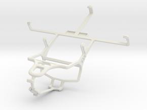 Controller mount for PS4 & ZTE V887 in White Natural Versatile Plastic