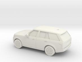 1/87 2013  Range Rover L405 Vogue  in White Natural Versatile Plastic