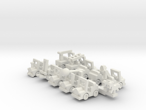Set Besatzungsteile 1:220 (Z scale) in White Natural Versatile Plastic