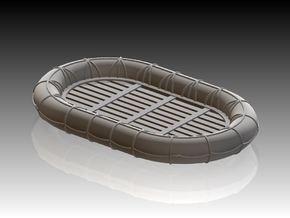 14ft x 9ft Carley float 1/96 in Smooth Fine Detail Plastic