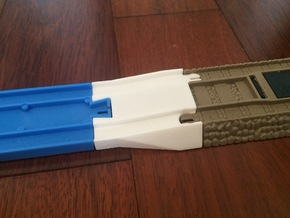 Female Tomy to Trackmaster Adapter in White Natural Versatile Plastic