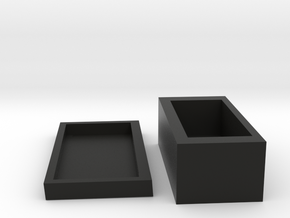 jewelery box in Black Strong & Flexible