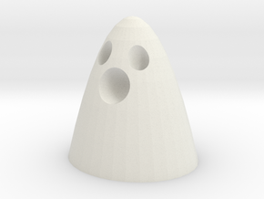 a little ghosty downloadable in White Natural Versatile Plastic