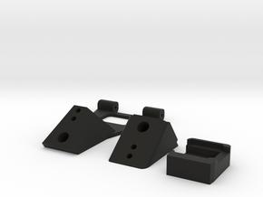 IRIS+ REAR DOOR Components in Black Natural Versatile Plastic
