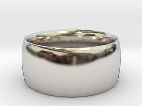 Ring (20x20) in Platinum