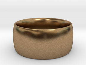 Ring (20x20) in Natural Brass