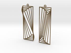 Frames in Natural Bronze