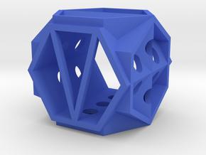 Dice142 in Blue Processed Versatile Plastic