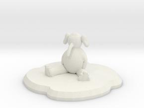 Flambo Figure in White Natural Versatile Plastic